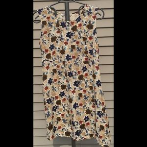 Awesome Brand Sz12 Tan floral flare Sundress